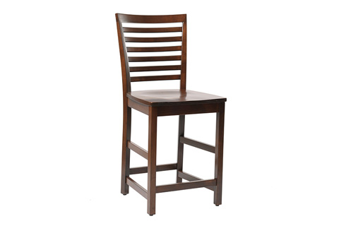 Country View Woodworking, Ltd - Side Counter Stool - DBC-11-24