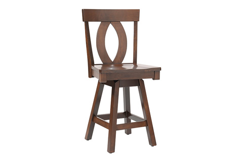 Country View Woodworking, Ltd - Side Swivel Pub Stool - DBS-08-24