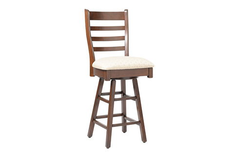 Country View Woodworking, Ltd - Side Swivel Pub Stool - DBS-13-24
