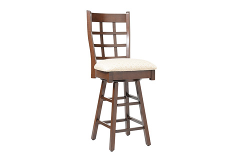 Country View Woodworking, Ltd - Side Swivel Pub Stool - DBS-17-24