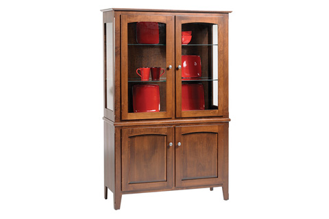 Country View Woodworking, Ltd - Display Cabinet - DGAL