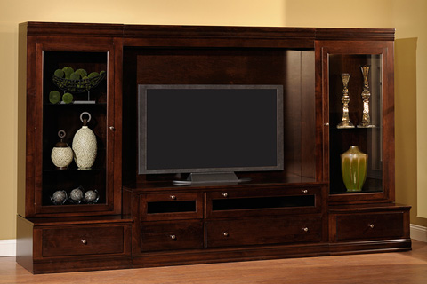 Country View Woodworking, Ltd - Tuscana Entertainment Center - 81-66WU