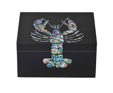 Image of Lobster Decorative Box