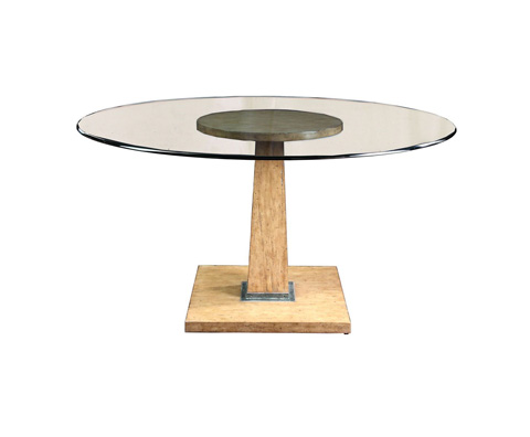 Curate by Artistica Metal Design - Round Pedestal Dining Table - C101-105