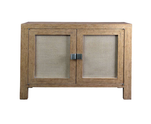 Curate by Artistica Metal Design - Woven Door Chest - C101-415