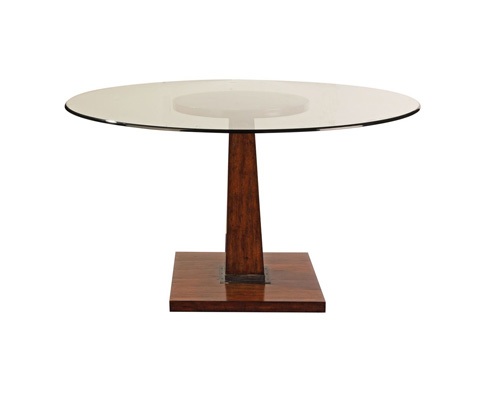 Curate by Artistica Metal Design - Round Pedestal Dining Table - C103-105