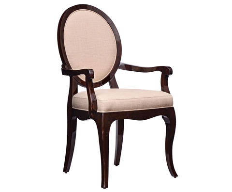 Image of Oval Arm Chair