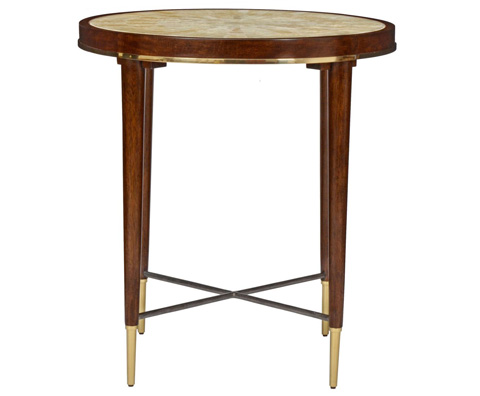 Image of Stiletto Round End Table
