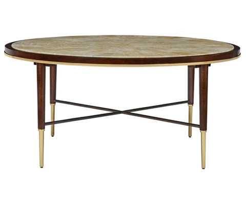 Image of Stiletto Round Cocktail Table