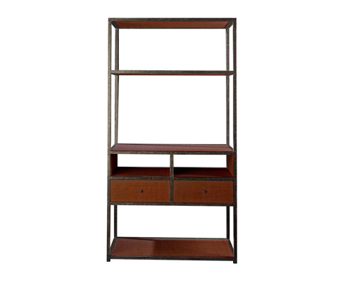 Curate by Artistica Metal Design - Media Etagere - C202-840
