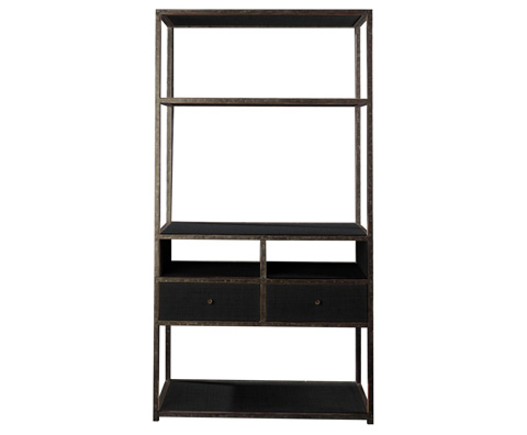 Curate by Artistica Metal Design - Media Etagere - C203-840