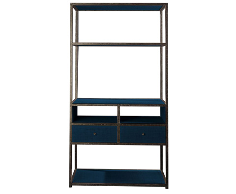 Curate by Artistica Metal Design - Media Etagere - C204-840