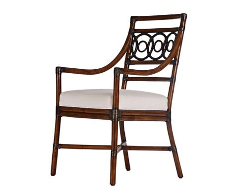 Curate by Artistica Metal Design - Circles Arm Chair - C402-010