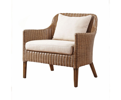 Curate by Artistica Metal Design - Wicker Lounge Chair - C403-050