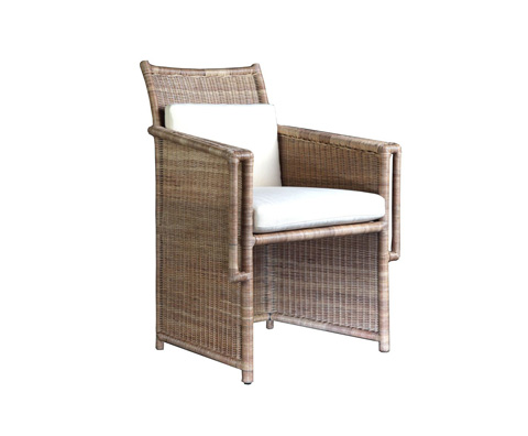 Image of Wicker Arm Chair