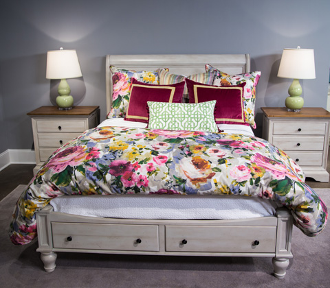 Image of Cottage Collection Queen Bedroom Set