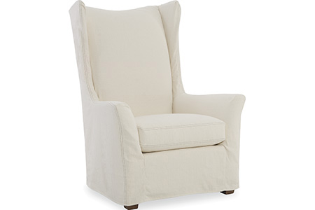 C.R. Laine Furniture - Copley Slipcover Wing Chair - 1335-SC