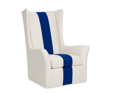 C.R. Laine Furniture - Copley Swivel Wing Chair - 1335-SW