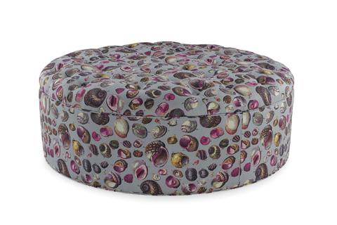 C.R. Laine Furniture - Columbus Round Ottoman - 29