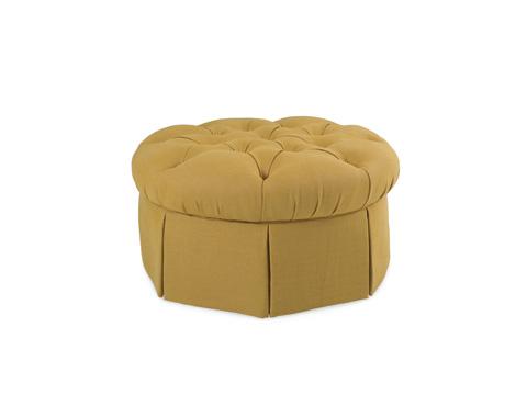C.R. Laine Furniture - Garrity Round Ottoman - 76