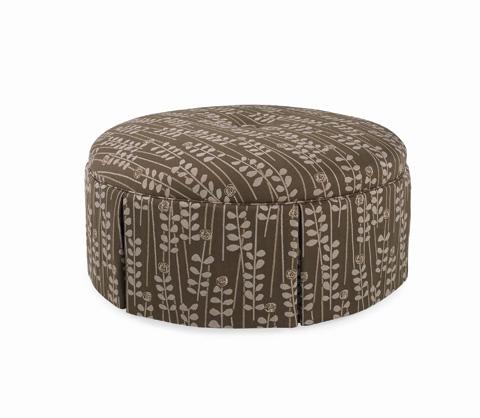 C.R. Laine Furniture - Norwood Round Ottoman - 98