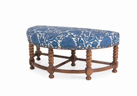 C.R. Laine Furniture - Westchester Half Round Ottoman - 9997