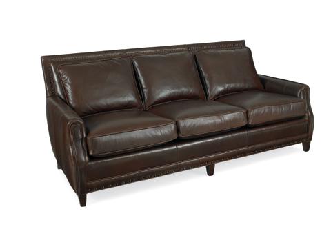 C.R. Laine Furniture - Lucas Leather Sofa - L2330