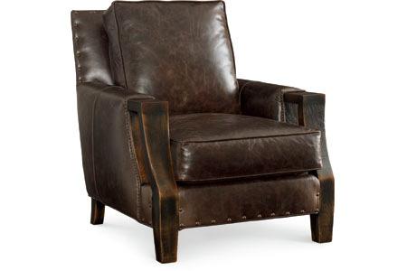 C.R. Laine Furniture - Muskoka Leather Chair - L2675