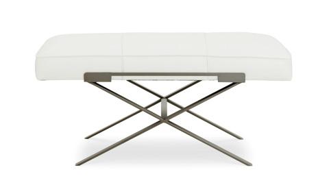 C.R. Laine Furniture - Dasha Large Ottoman w/Metal Base - L9677
