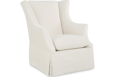 C.R. Laine Furniture - Holly Swivel Glider - 4115-SG