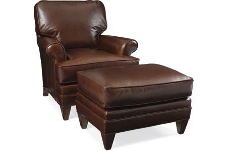 C.R. Laine Furniture - Klein Leather Chair - L4405