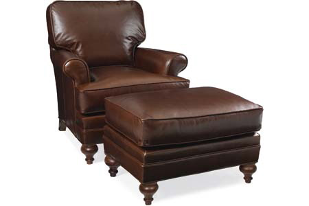 C.R. Laine Furniture - Kasey Leather Chair - L4505