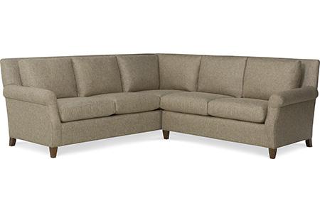 C.R. Laine Furniture - Logan Sectional - 2530-L/2534-R