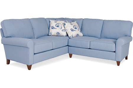 C.R. Laine Furniture - Portside Sectional - 7620-L/7624-R