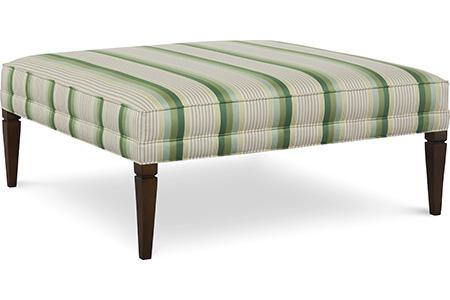 C.R. Laine Furniture - Terrance Large Square Ottoman - 75-17