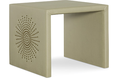 C.R. Laine Furniture - Tobin Upholstered End Table - 80-07