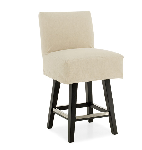 C.R. Laine Furniture - Swivel Counter Stool with Slipcover - 3076SW-SC