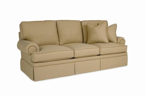 C.R. Laine Furniture - Roll Panel Arm Sleeper Sofa - CD8600R-S