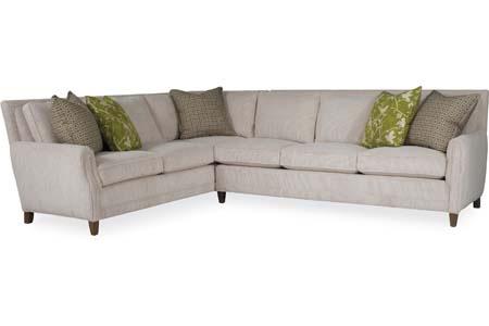 C.R. Laine Furniture - Lucas Sectional - 2340-L/2341-R