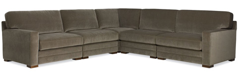C.R. Laine Furniture - Bentley Sectional - 4362/4365/4365/4368-L/4368-R