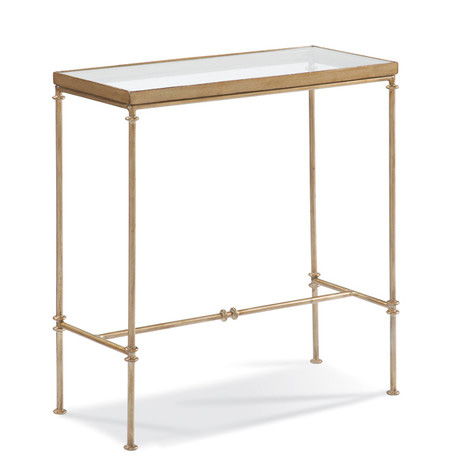 CTH-Sherrill Occasional - Glass Top Side Table - 370-900