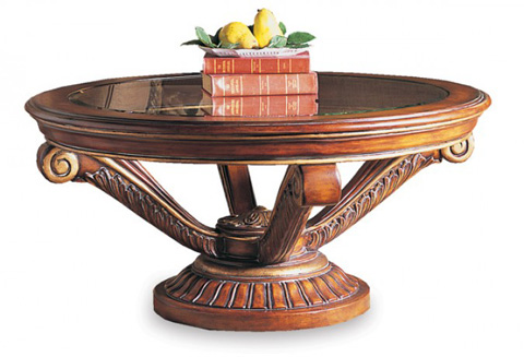 CTH-Sherrill Occasional - Round Cocktail Table - 180-880