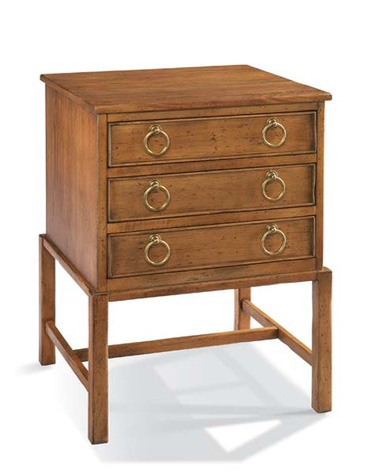 CTH-Sherrill Occasional - Chatham Three Drawer Chest - 540-960