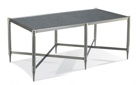 CTH-Sherrill Occasional - Rectangular Steel Cocktail Table - 962-900