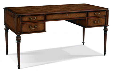 CTH-Sherrill Occasional - Drawer Desk with Pull-out Trays - 960-025