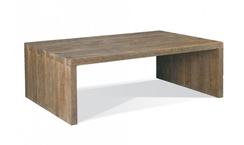 CTH-Sherrill Occasional - Rectangular Cocktail Table - 215-820