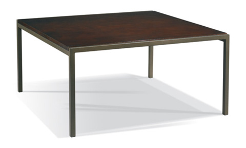 CTH-Sherrill Occasional - Square Cocktail Table - 367-850