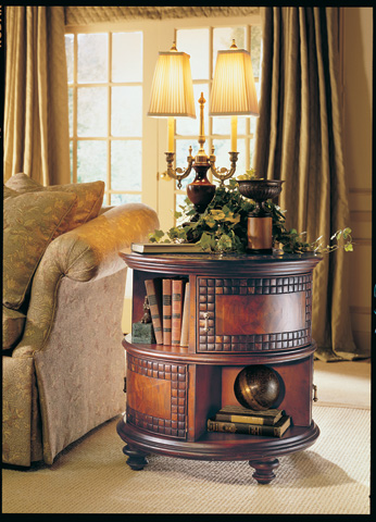 CTH-Sherrill Occasional - Drum Table - 824-980