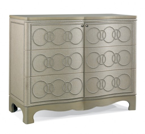CTH-Sherrill Occasional - Serpentine Door Chest - 963-151