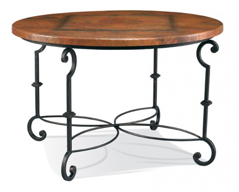 CTH-Sherrill Occasional - Copper Top Game Table - 963-802